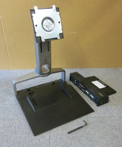 Dell GG217 Dell E-Series Monitor Stand With PR02X E-Port Advance Docking Station